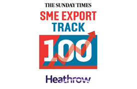 Helipebs Controls ranked 62 on Sunday Times league table of Britain's fastest growing exporters