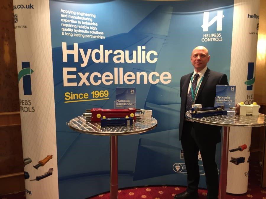 Helipebs Controls exhibits at the WEAF annual conference