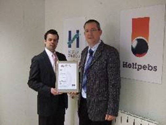 Helipebs Controls achieves BS OHSAS 18001