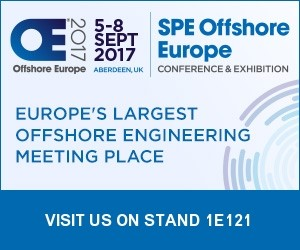 Offshore Europe 2017 - Visit us on Stand 1E121